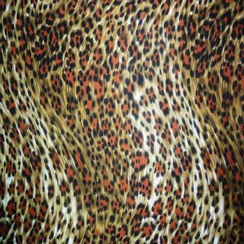 Printed ITY (Black, Brick Red, & Brown Cheetah Print On White Background)