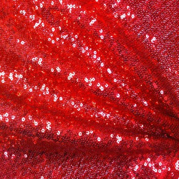 Stretch Sequins (Red)