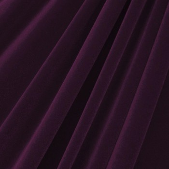 Solid Color Velvet (Plum)