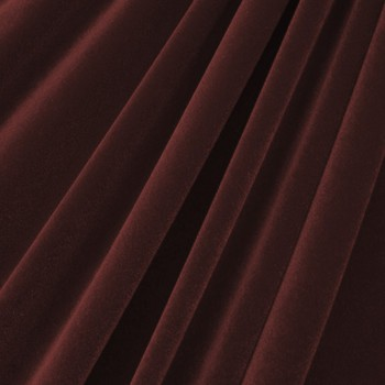 Solid Color Velvet (Chocolate)