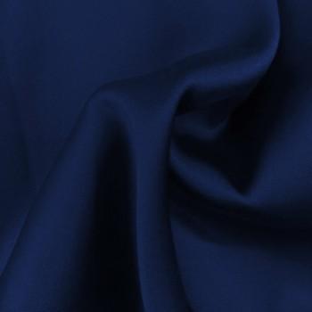 Stretch Charmeuse (Navy Blue)
