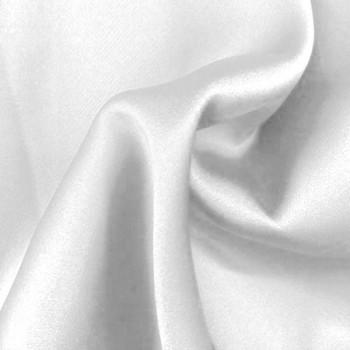 Stretch Charmeuse (White)