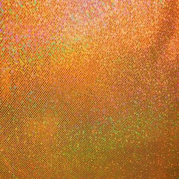 Holographic Dots (Orange)
