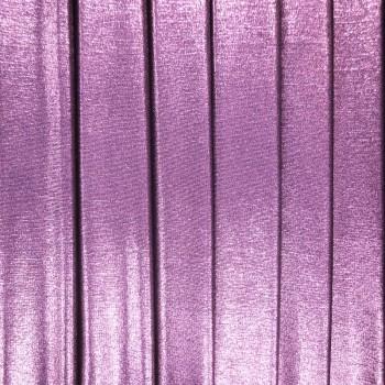 Metallic Slinky (Lilac With Gold Metallic)