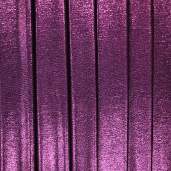 Metallic Slinky (Violet With Black Background)