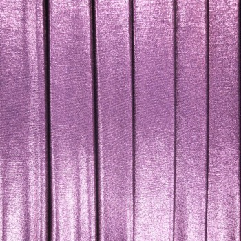 Metallic Slinky (Lilac With Gold Background)