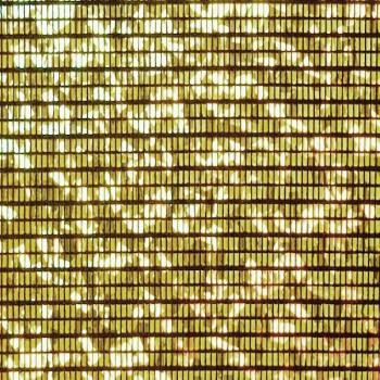 Pattern Hologram (Gold and Black)