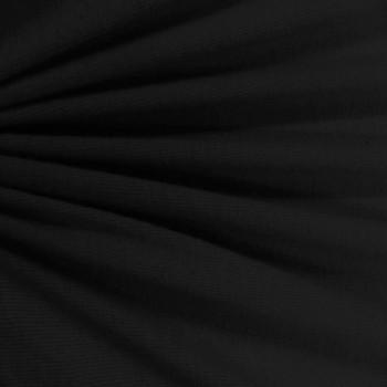 Cotton Rib (Black)