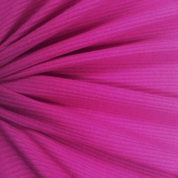 Cotton Rib (Fuschia)