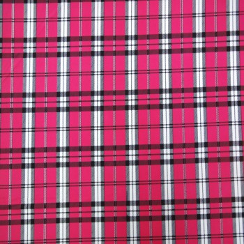 Stretch Plaid Fabric