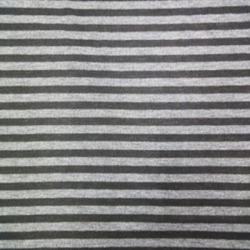 Gray & Balck Sml Stripe