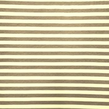 Nude & White Sml Stripe