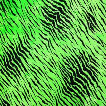 Animal Print On Velvet