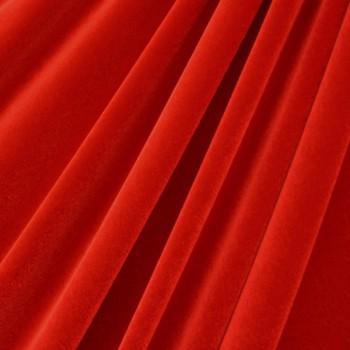 Solid Color Velvet (Orange Red)
