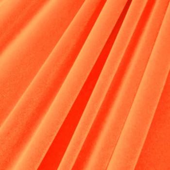 Solid Color Velvet (Neon Orange)