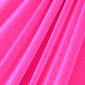 Solid Color Velvet (Neon Pink)