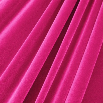 Solid Color Velvet (Fuchsia)