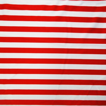 Printed Stripes (Red/White)