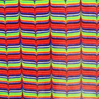 Multi Color Velet