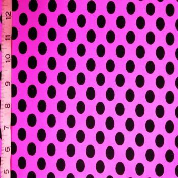 Polka Dots ( Hot Pink & Black )