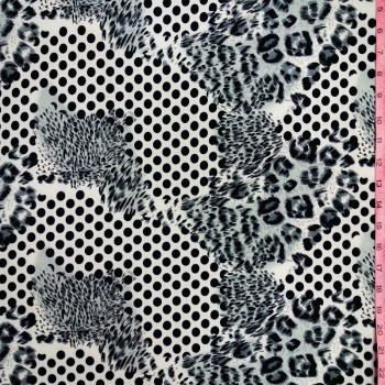cheetah  Polka Dot