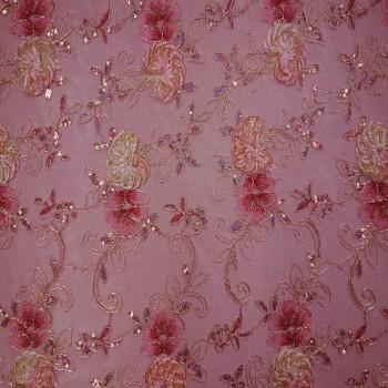 Mesh Sequins (Rose)