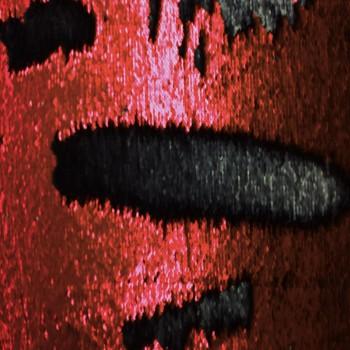 Reversible Sequins Matte (Burgundy and Black Sequins)