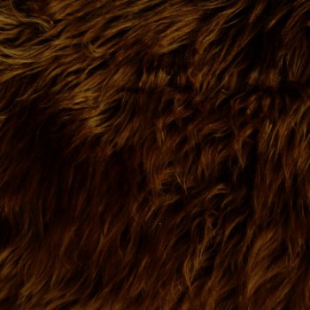 Fake Fur (Dark Brown)