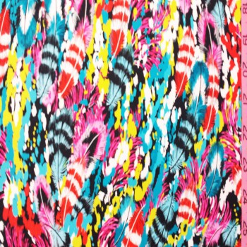Feather Print (Multicolored)