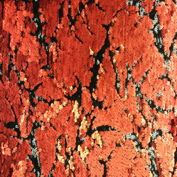 Stretch Sequins (Red and Black)