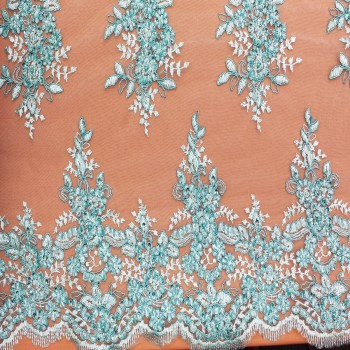 Beaded Lace (Mint)
