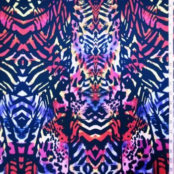 Tribal Print (Blue & Purple)