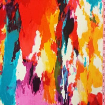 Multi Color ITY Print