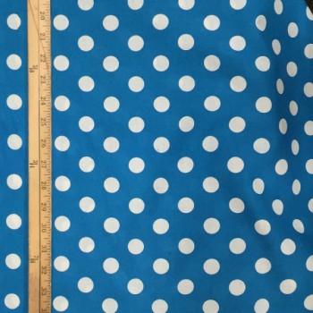 Sky Blue (White Dots - Large)