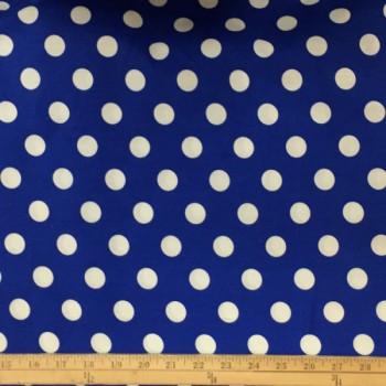 Blue (White Dots - Large)