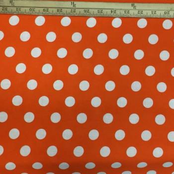 Orange (White Dots - Large)