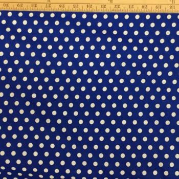 Blue (White Dots)