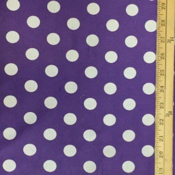 Purple (White Dots - Large)