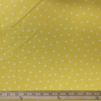 Yellow (White Dots - Small)