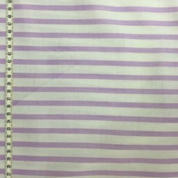 Light Pink & White Stripes