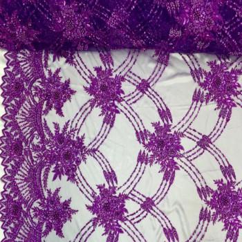 Beaded Lace (Purple)