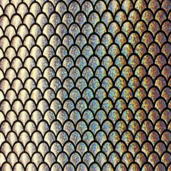 Fish Scale (Silver Hologram)