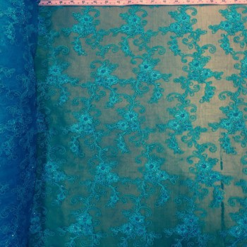 Beaded Lace (Turquoise)