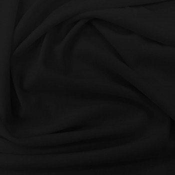 Poly Matte Jersey (Black)