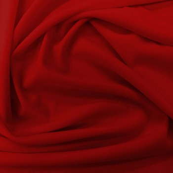 Poly Matte Jersey (Dark Red)