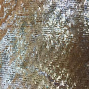 Stretch Sequins (Matte Gold)