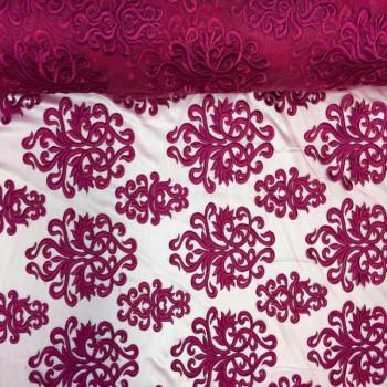 Embroidery Mesh (Fuchsia)