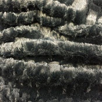 Fake Fur (Black Animal Print)