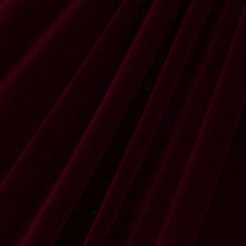 Solid Color Velvet (Non-Stretch Burgundy)