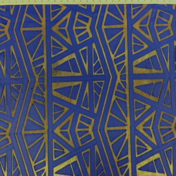 Leather Lace (Royal Blue)